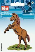 Prym Iron On Embroidered Motif Applique Jumping Horse