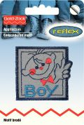 Prym Self Adhesive Embroidered Motif Applique Boy