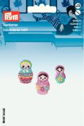 Prym Self Adhesive Embroidered Motif Applique Babuschka