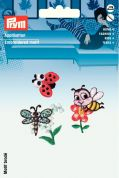 Prym Self Adhesive Embroidered Motif Applique Bee & Butterfly