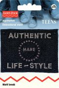 Prym Iron On Embroidered Jeans Label Motif Authentic Life Style