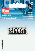 Prym Iron On Embroidered Label Motif Applique Sports