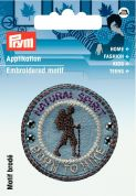 Prym Iron On Embroidered Applique Patch Natural Spirit