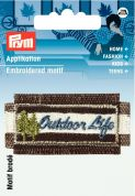 Prym Iron On Embroidered Applique Patch Outdoor Life