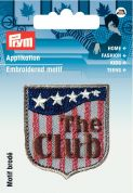 Prym Iron On Embroidered Label Motif Applique The Club