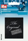 Prym Iron On Embroidered Label Motif Applique The Original