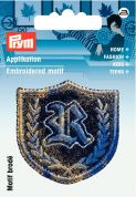 Prym Iron On Embroidered Motif Applique Coat Of Arms