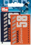 Prym Iron On Embroidered Label Motif Applique Sportswear