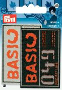 Prym Iron On Embroidered Label Motif Applique Basic