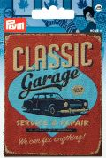 Prym Iron On Embroidered Motif Applique Classic Garage