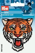 Prym Iron On Embroidered Motif Applique Tigers Head