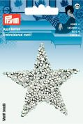 Prym Iron On Embroidered Motif Applique Glamour Star Transfer