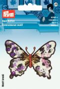Prym Iron On Butterfly Applique Motif  Animal print & Sequins