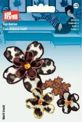 Prym Iron On Flower Tendril Applique Motif  Animal Print