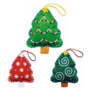 Kleiber Christmas Tree Decoration Craft Felt Sewing Kit