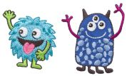 Simplicity Monsters Motif Applique
