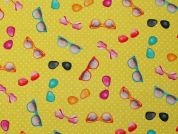 100% Cotton Fabric  Yellow