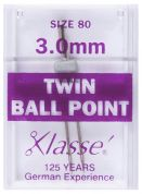 Klasse Universal Twin Ball Point Sewing Machine Needles