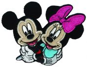 Simplicity Disney Mickey & Minnie Mouse Motif Applique