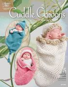 Annie's Attic Cuddle Cocoons Baby Crochet Craft Book