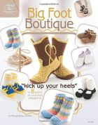 Annie's Attic Big Foot Boutique Crochet Craft Book