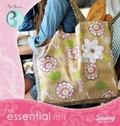 Art Gallery Fabrics Accessories Easy Sewing Pattern & CD Essential Tote Bag