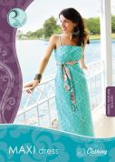 Art Gallery Fabrics Ladies Sewing Pattern Maxi Dress