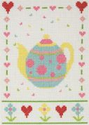 Anchor Cross Stitch Kit Tea Set