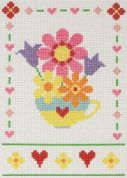Anchor Cross Stitch Kit Flowers