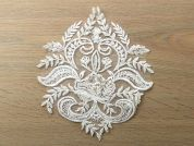 Beaded Appliques  Ivory