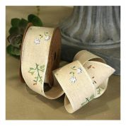 Flower Jute Ribbon