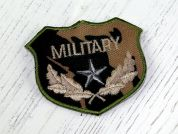 Military Badge Motifs  Green
