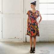 April Rhodes Ladies Sewing Pattern The Date Night Dress