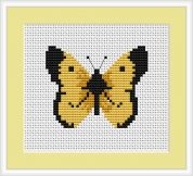 Luca-S Counted Cross Stitch Kit Butterfly
