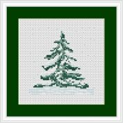 Luca-S Counted Cross Stitch Kit Christmas Tree