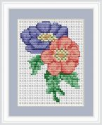 Luca-S Counted Cross Stitch Kit Anemone