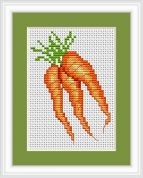 Luca-S Counted Cross Stitch Kit Carrots