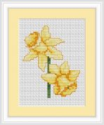 Luca-S Counted Cross Stitch Kit Daffodils