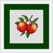 Luca-S Counted Cross Stitch Kit Peach