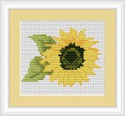 Luca-S Counted Cross Stitch Kit Sunflower