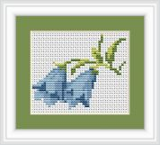 Luca-S Counted Cross Stitch Kit Bluebells