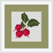 Luca-S Counted Cross Stitch Kit Radishes