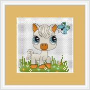 Luca-S Counted Cross Stitch Kit Pony