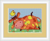 Luca-S Counted Cross Stitch Kit Cow