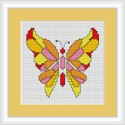 Luca-S Counted Cross Stitch Kit Butterfly II