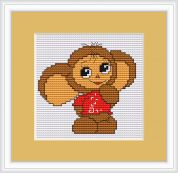 Luca-S Counted Cross Stitch Kit Mouse