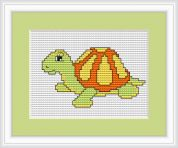 Luca-S Counted Cross Stitch Kit Turtle