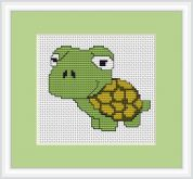 Luca-S Counted Cross Stitch Kit Tortoise