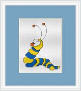 Luca-S Counted Cross Stitch Kit Worm