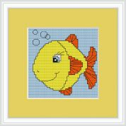 Luca-S Counted Cross Stitch Kit Fish